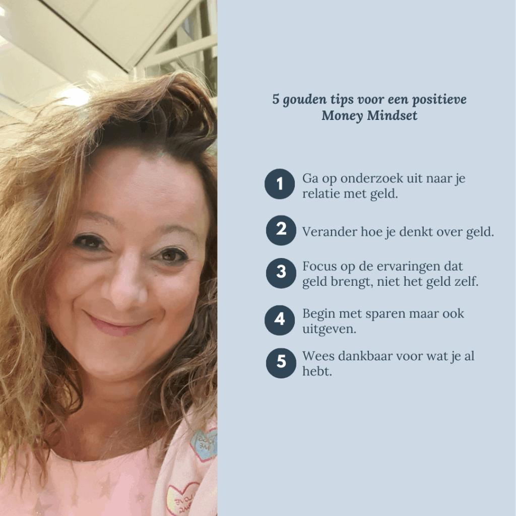 5 gouden tips voor een positieve  Money Mindset